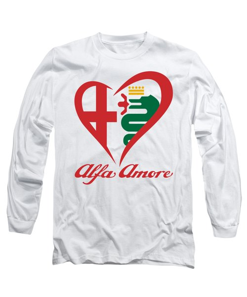 Alfa Amore Long Sleeve T-Shirt