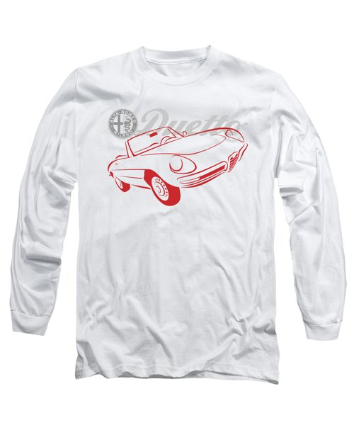 Alfa Duetto Spider-1 Long Sleeve T-Shirt