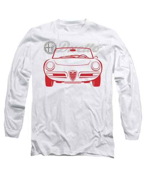 Alfa Duetto Spider-2 Long Sleeve T-Shirt
