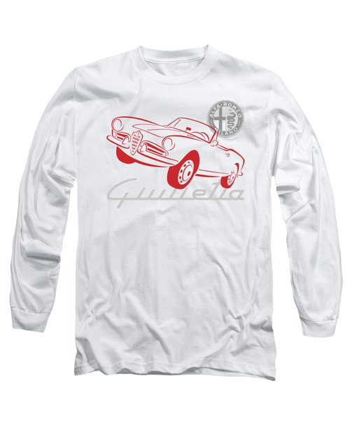 Alfa Giulietta Spider-1 Long Sleeve T-Shirt