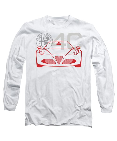 Alfa Romeo 4c-2 Long Sleeve T-Shirt