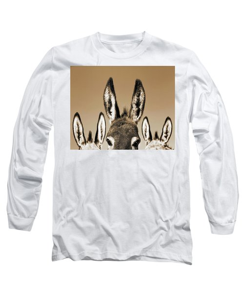 All Ears, Sepia Long Sleeve T-Shirt