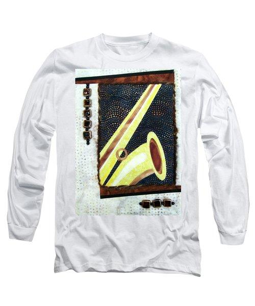 All That Jazz Saxophone Long Sleeve T-Shirt