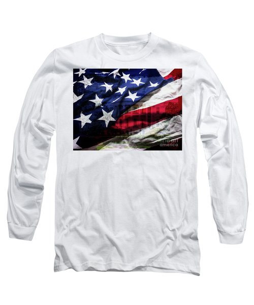American White House Long Sleeve T-Shirt