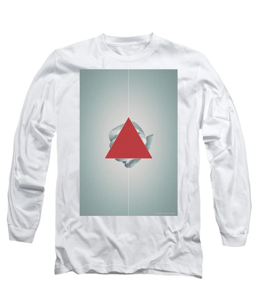 Ampersand - Surreal Geometric Abstract Crab Legs Long Sleeve T-Shirt