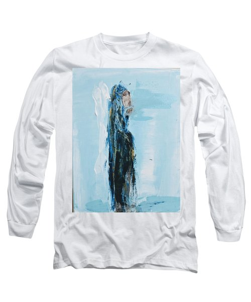 Angel With Child Long Sleeve T-Shirt