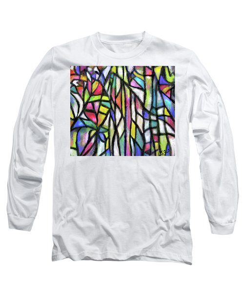 Abstract Forest Long Sleeve T-Shirt