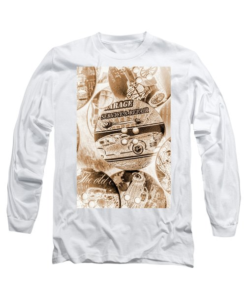Antique Service Industry Long Sleeve T-Shirt