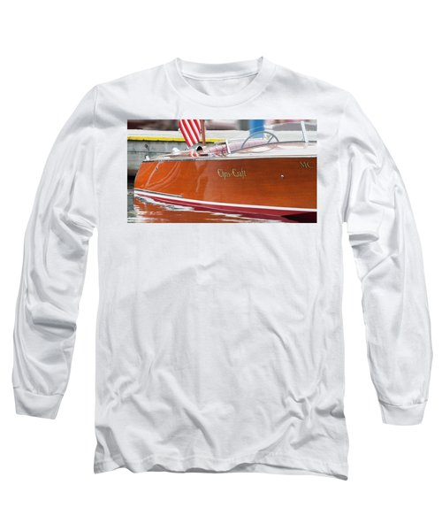 Antique Wooden Boat 1305 Long Sleeve T-Shirt