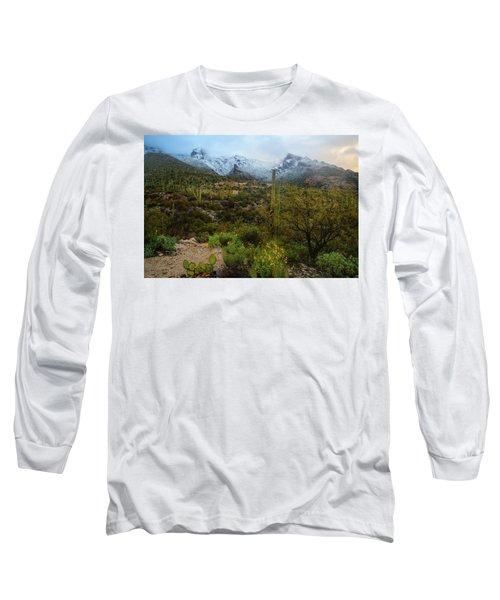 Arizona Winter Light Long Sleeve T-Shirt