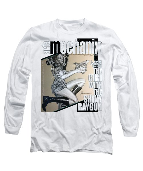 arteMECHANIX 1906 The GIRL WITH The SHINY RAYGUN GRUNGE Long Sleeve T-Shirt