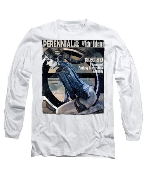arteMECHANIX 1908 PERENNIAL SPIN GRUNGE Long Sleeve T-Shirt