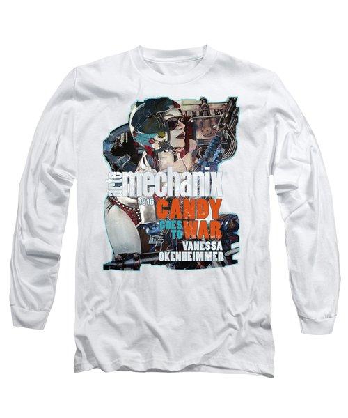arteMECHANIX 1916 CANDY GOES TO WAR  GRUNGE Long Sleeve T-Shirt