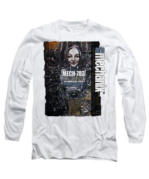 arteMECHANIX 1917 BioMECH-783 GRUNGE Long Sleeve T-Shirt
