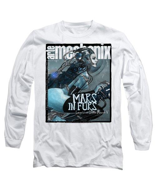 arteMECHANIX 1926 MARS IN FURS GRUNGE Long Sleeve T-Shirt