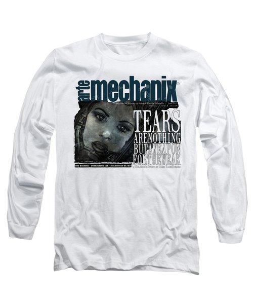 arteMECHANIX 1927 A WEAPON FOR THE WEAK  GRUNGE Long Sleeve T-Shirt