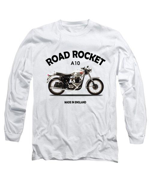 Bsa Road Rocket 1955 Long Sleeve T-Shirt