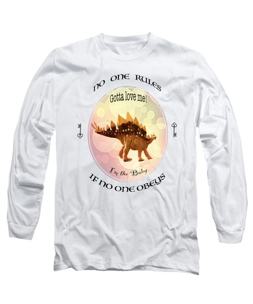 No One Rules If No One Obeys By Olena Art Long Sleeve T-Shirt