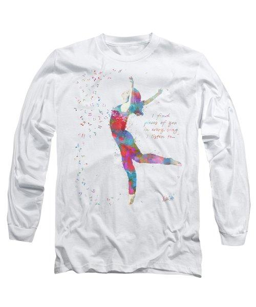 Beloved Deanna Radiating Love And Light Long Sleeve T-Shirt