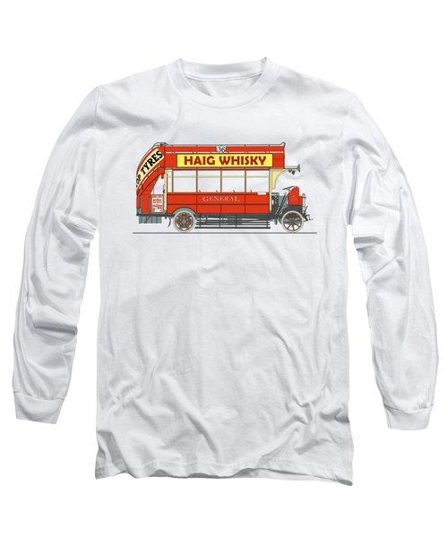 London General Omnibus K-type Bus Long Sleeve T-Shirt