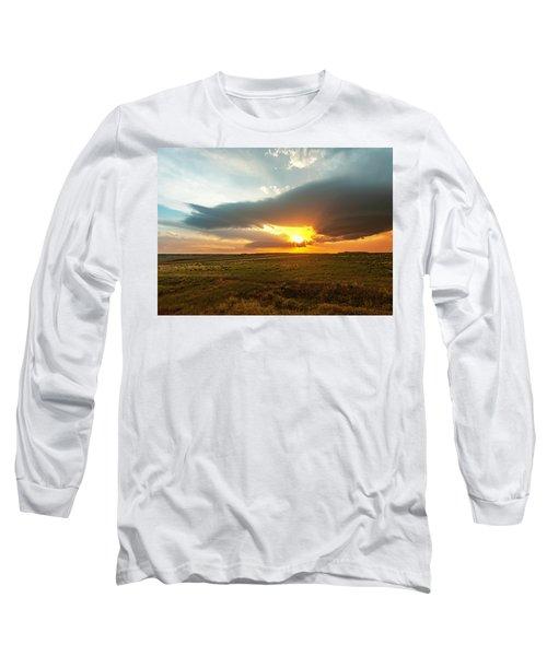 As The Sun Is Setting Long Sleeve T-Shirt