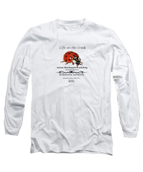 Asian Harlequin Ladybug Long Sleeve T-Shirt