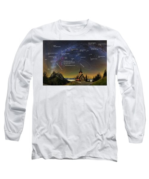 Astrophotography Winter Wonderland Long Sleeve T-Shirt