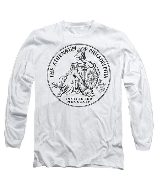 Athenaeum Of Philadelphia Logo Long Sleeve T-Shirt