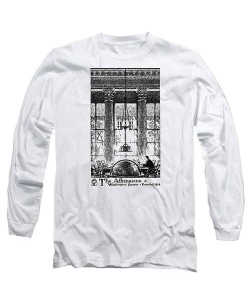 Athenaeum Reading Room Long Sleeve T-Shirt
