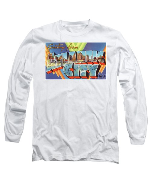 Atlantic City Greetings #4 Long Sleeve T-Shirt