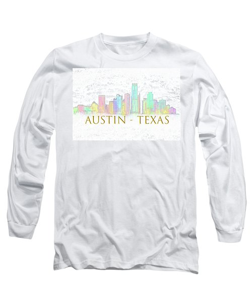 Austin Skyline Long Sleeve T-Shirt
