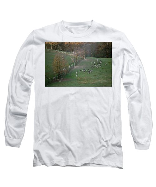 Long Sleeve T-Shirt featuring the photograph Autumn In South Moravia 9 by Dubi Roman