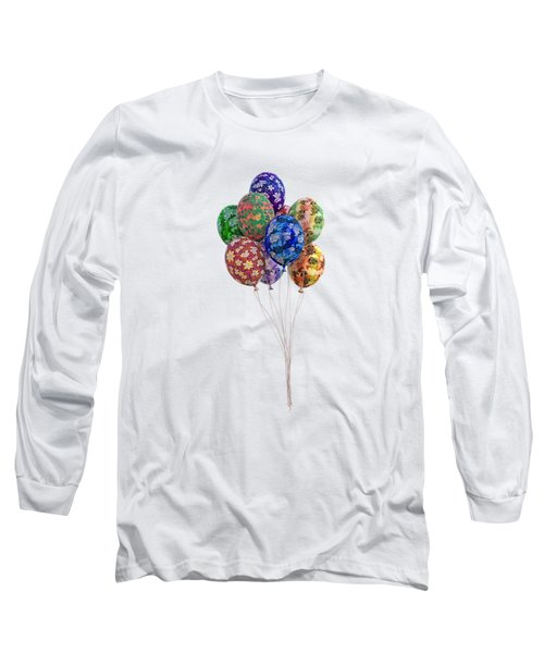 Balloons Perfect Touch Long Sleeve T-Shirt