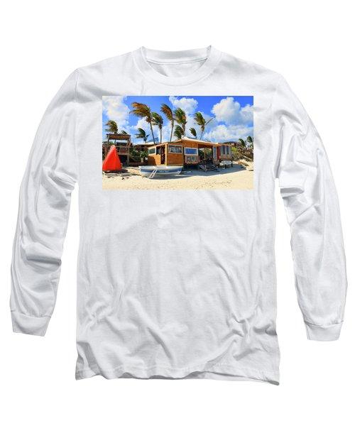 Bankie Banxs Dunes Preserve Beach Bar Long Sleeve T-Shirt