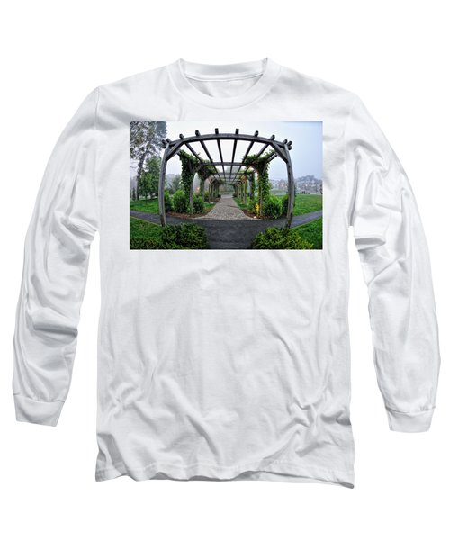 Bar Harbor Pergola Long Sleeve T-Shirt
