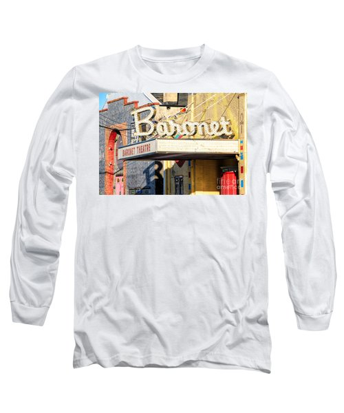 Baronet Theater Asbury Park New Jersey 1913 Demolished In 2010 Long Sleeve T-Shirt
