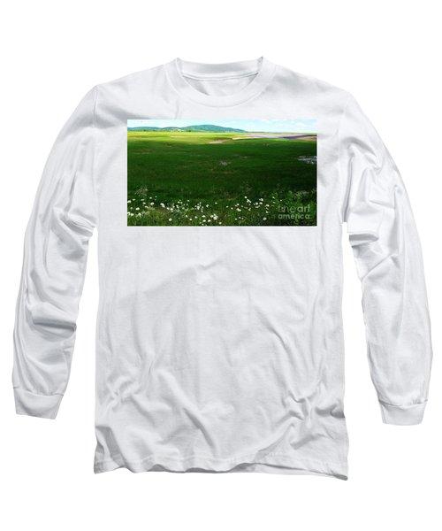 Bay Of Fundy Landscape Long Sleeve T-Shirt