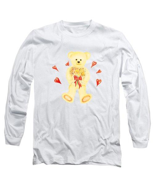 Bear In Love Long Sleeve T-Shirt