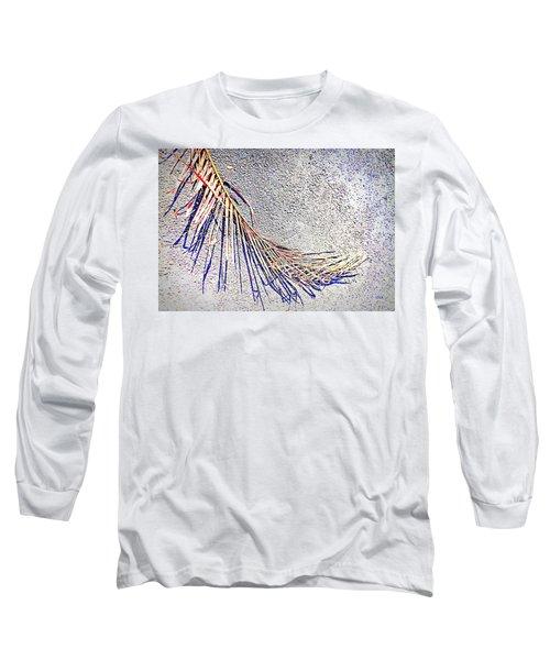 Beautiful  Frond  Shadows Long Sleeve T-Shirt