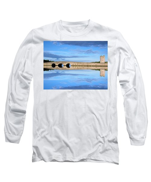 Belvelly Castle Reflection Long Sleeve T-Shirt