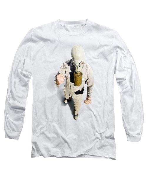 Biohazard Battle Long Sleeve T-Shirt