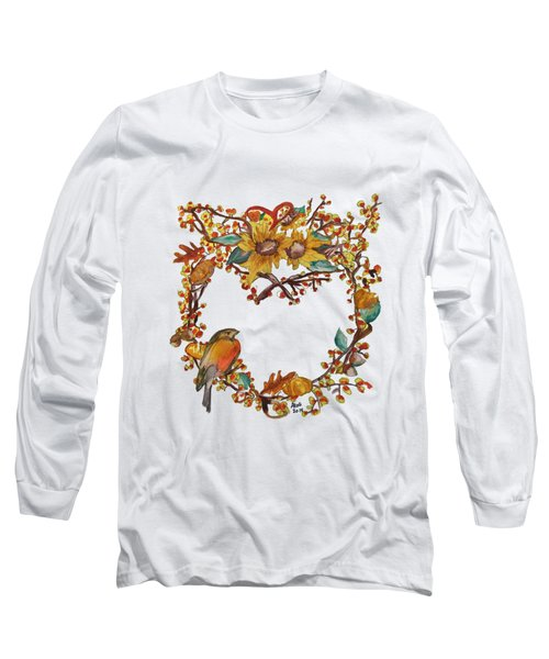 Bittersweet Wreath Long Sleeve T-Shirt
