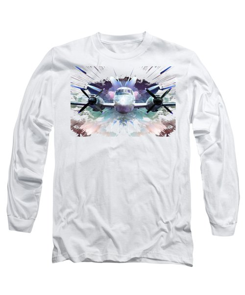 Blast From The Past On A Transparent Background Long Sleeve T-Shirt