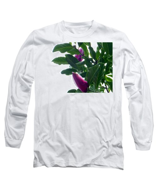Long Sleeve T-Shirt featuring the photograph Blossoming Magnolias by Rockin Docks