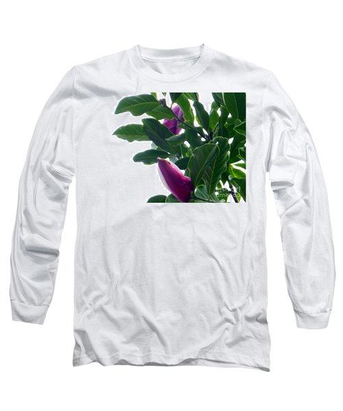 Blossoming Magnolias Long Sleeve T-Shirt