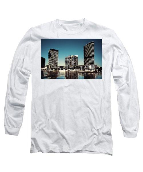 Blue Melbourne Long Sleeve T-Shirt