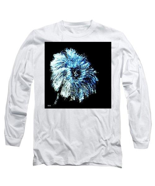 Blue Mum Study Long Sleeve T-Shirt