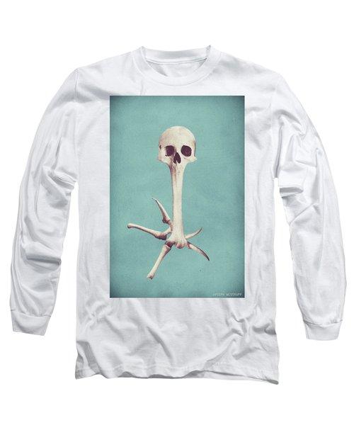 Blue Syzygy Long Sleeve T-Shirt