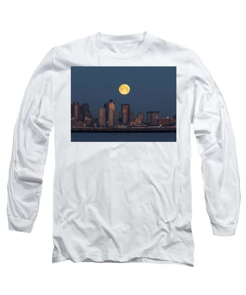 Boston Moonset Long Sleeve T-Shirt