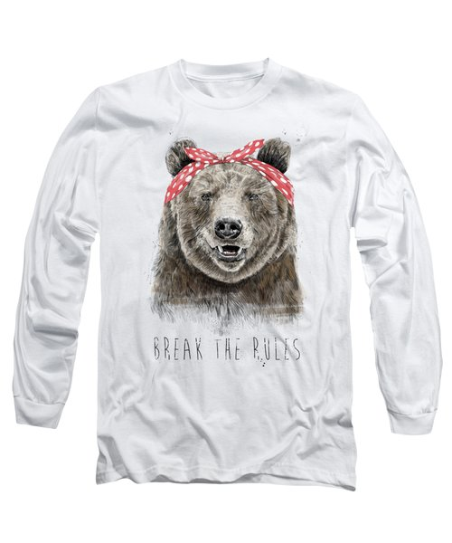 Break The Rules Long Sleeve T-Shirt